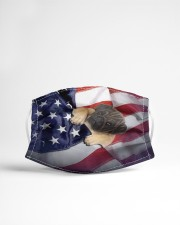 pug puppy usa flag fm Cloth face mask aos-face-mask-lifestyle-22