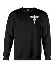 Dialysis nurse USA Flag  2 Sides Printed Crewneck Sweatshirt thumbnail
