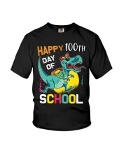 Dinosaur Happy 100 days of school Youth T-Shirt thumbnail