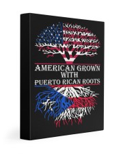American with Puerto rican roots Gallery Wrapped Canvas Prints tile