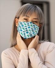 turtle tortoise mask Cloth face mask aos-face-mask-lifestyle-17