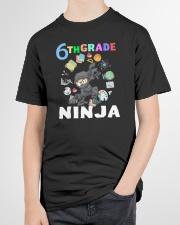 6TH Grade Ninja school Youth T-Shirt garment-youth-tshirt-front-lifestyle-01