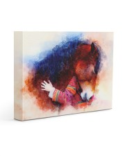 Horse girl love Gallery Wrapped Canvas Prints tile