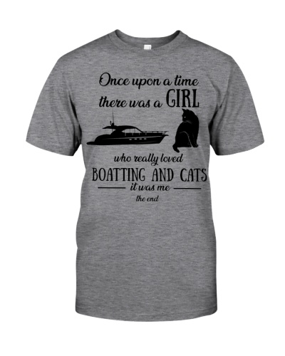 Once upon time girl loved boating cats 2