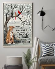 pitbull beside poster 16x24 Poster lifestyle-poster-1