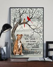 pitbull beside poster 16x24 Poster lifestyle-poster-2