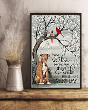 pitbull beside poster 16x24 Poster lifestyle-poster-3