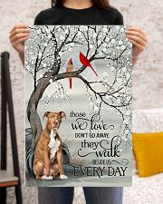 pitbull beside poster 16x24 Poster poster-portrait-16x24-lifestyle-18