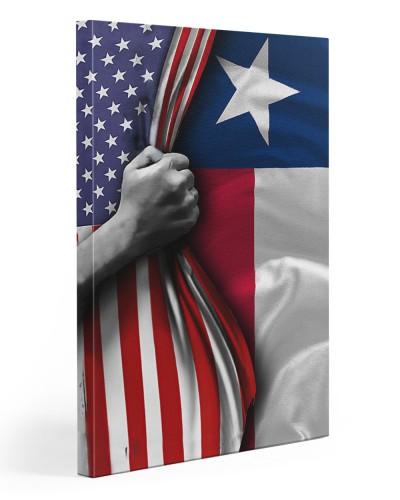 American texas canvas hand