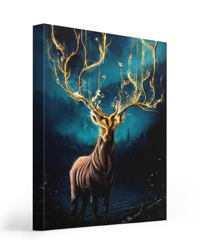 magic deer canvas