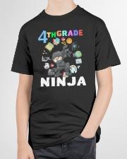 4TH Grade Ninja school Youth T-Shirt garment-youth-tshirt-front-lifestyle-01