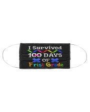 I survived 100 days of first grade Cloth face mask aos-face-mask-coverlet-lifestyle-front-01