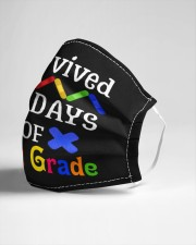 I survived 100 days of first grade Cloth face mask aos-face-mask-lifestyle-21