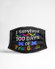 I survived 100 days of first grade Cloth face mask aos-face-mask-lifestyle-22