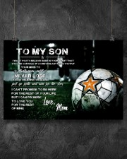 Soccer poster mom love son 24x16 Poster aos-poster-landscape-24x16-lifestyle-13