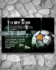 Soccer poster mom love son 24x16 Poster aos-poster-landscape-24x16-lifestyle-14