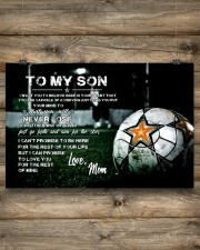 Soccer poster mom love son 24x16 Poster aos-poster-landscape-24x16-lifestyle-15