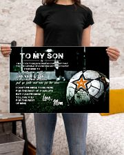 Soccer poster mom love son 24x16 Poster poster-landscape-24x16-lifestyle-20