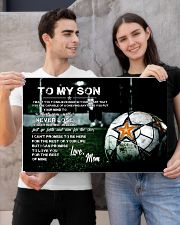 Soccer poster mom love son 24x16 Poster poster-landscape-24x16-lifestyle-21