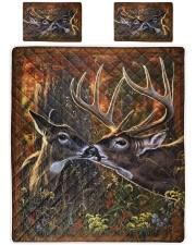 Deer quilt 2 King Quilt Bed Set thumbnail