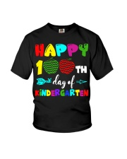 happy 100th day of kindergarten  Youth T-Shirt thumbnail