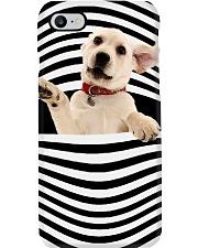 Lab puppy line mask Phone Case thumbnail