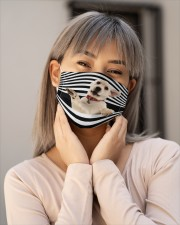 Lab puppy line mask Cloth face mask aos-face-mask-lifestyle-17
