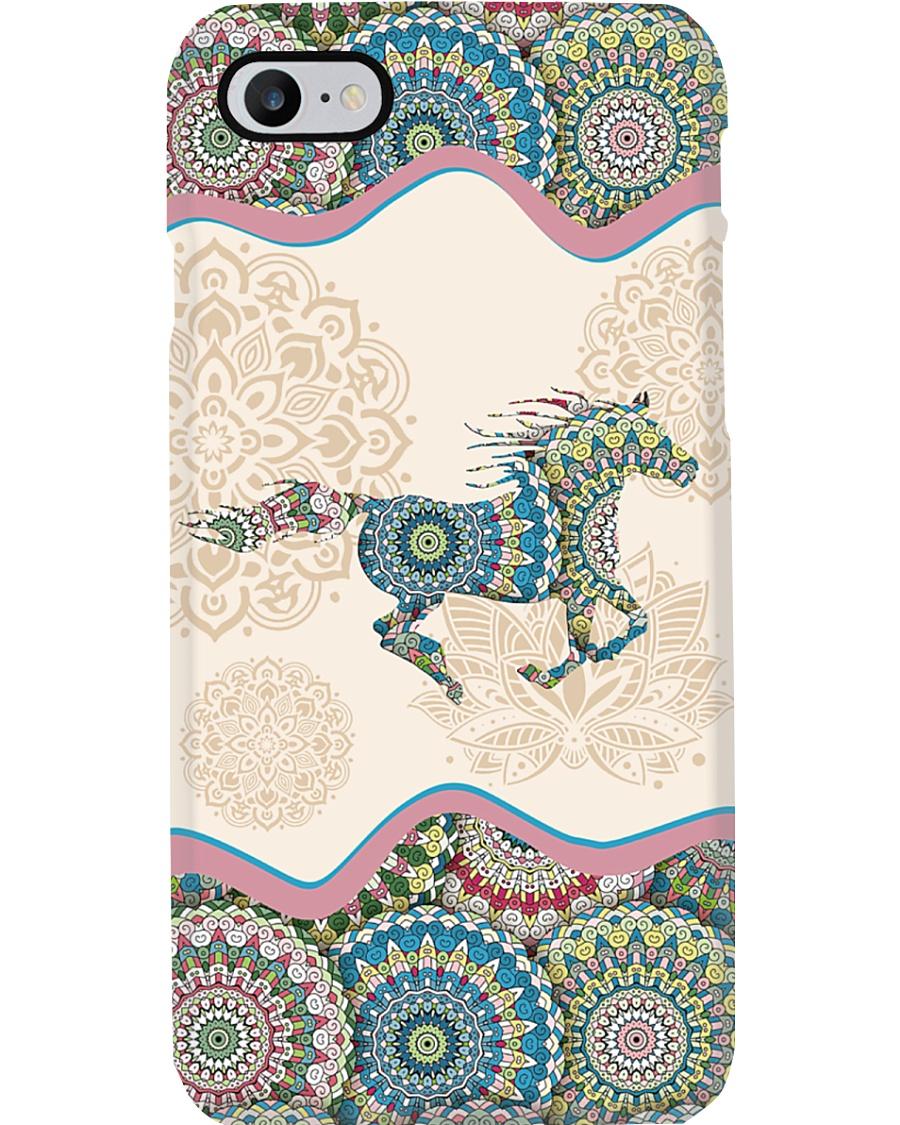 Horse mandala phone case Phone Case