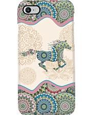 Horse mandala phone case Phone Case i-phone-8-case