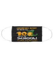 Chomping right through 100 days of school Cloth face mask aos-face-mask-coverlet-lifestyle-front-01