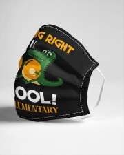 Chomping right through 100 days of school Cloth face mask aos-face-mask-lifestyle-21