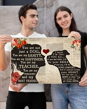 American Bulldog girl poster 24x16 Poster poster-landscape-24x16-lifestyle-21