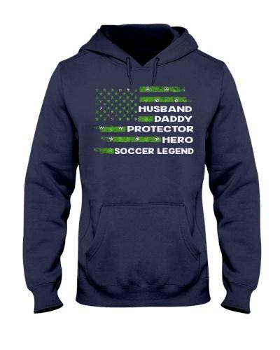 Soccer lengend husband daddy protector hero