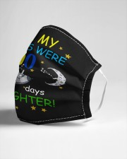 My stars 100 days brighter Cloth face mask aos-face-mask-lifestyle-21