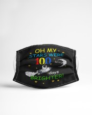 My stars 100 days brighter Cloth face mask aos-face-mask-lifestyle-22
