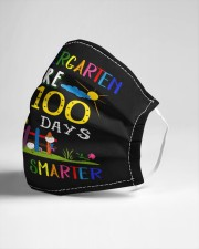 My Kids are 100 days smarter Cloth face mask aos-face-mask-lifestyle-21