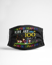 My Kids are 100 days smarter Cloth face mask aos-face-mask-lifestyle-22