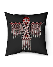 Native mask 2 Indoor Pillow tile