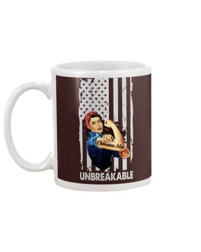 Chihuahua mom unbreakable 2 sides