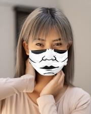 horror fm Cloth face mask aos-face-mask-lifestyle-18