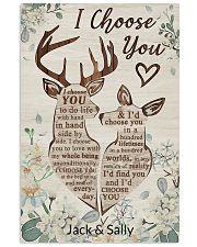 Deer - I choose you poster 11x17 Poster front