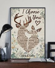 Deer - I choose you poster 11x17 Poster lifestyle-poster-2