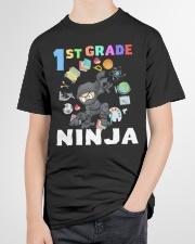 1st Grade Ninja school Youth T-Shirt garment-youth-tshirt-front-lifestyle-01
