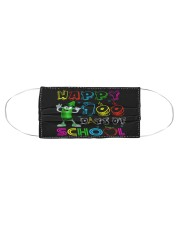 Happy 100 days of school Cloth face mask aos-face-mask-coverlet-lifestyle-front-01