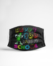 Happy 100 days of school Cloth face mask aos-face-mask-lifestyle-22