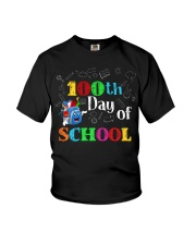 100th day of school Youth T-Shirt tile