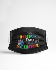 100th day of school Cloth face mask aos-face-mask-lifestyle-22