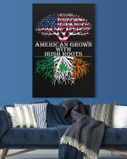 American with Irish roots 20x30 Gallery Wrapped Canvas Prints aos-canvas-pgw-20x30-lifestyle-front-06
