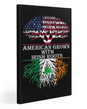 American with Irish roots 20x30 Gallery Wrapped Canvas Prints front