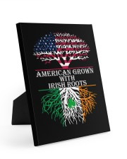 American with Irish roots Easel-Back Gallery Wrapped Canvas tile